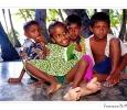 bambini maldiviani atollo di felidù maldive