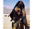 beduini nomadi desertovestiti tipici penisola del sinai mar rosso egitto