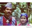 matrimoni indù indiani con vestito tipico giorni festivi varie etnie sikkim india