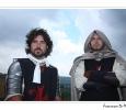 manifestazione medievale rievocazione storica cavalieri tortura rocca di castrocaro terme emilia romagna italia